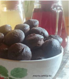 Áfonyás-csokis muffin IR módra